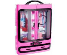 """Mattel Puppen Accessoires-Set """"Modekoffer Barbie Kleiderschrank"""", rosa, Damen, rosa"""