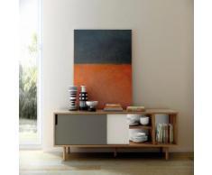 TemaHome Sideboard Dann, mit Schiebetüren, Breite 165 cm beige Sideboards Kommoden