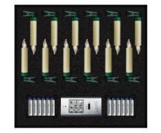 lumix LED-Christbaumkerzen LUMIX SuperLight Mini, Alle Batterien im Lieferumfang enthalten beige LED-Lampen LED-Leuchten SOFORT LIEFERBARE Lampen Leuchten