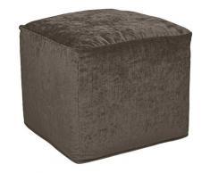 furninova Sitzwürfel Praline, ein Eyecatcher für jeden Raum, im skandinavischen Design braun Sitzkissen Hocker