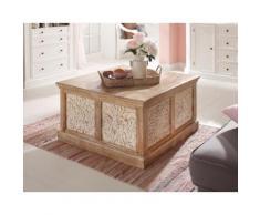 Home affaire Couchtisch Gandor, Breite 90 cm beige Truhen-Couchtische Couchtische Tische Tisch