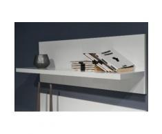 Places of Style Wandboard Piano, hochwertig UV lackiert weiß Wandboards Wandkonsolen Regale Kleinmöbel