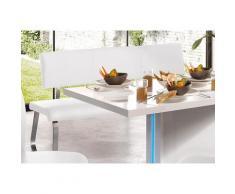 MCA furniture Polsterbank Arco, (1 St.), belastbar bis 280 kg, Kunstleder, in verschiedenen Breiten weiß Polsterbänke Sitzbänke Stühle