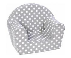 Knorrtoys Sessel Dots, grey grau Kinder Ab 3-5 Jahren Altersempfehlung