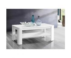 FORTE Couchtisch, Breite 110 cm weiß Couchtisch Couchtische Tische Möbel sofort lieferbar