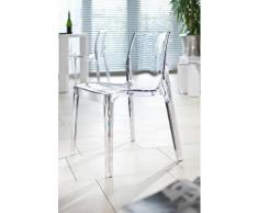 SalesFever Esszimmerstuhl, in transparentem Design farblos Esszimmerstuhl Esszimmerstühle Stühle Sitzbänke