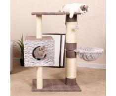 HEIM Kratzbaum Schottland II, hoch, BxTxH: 60x45x95 cm braun Kratz- Kletterbäume Katze Tierbedarf