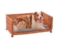 SILVIO design Tiersofa Bailey, in versch. Größen braun Hundebetten -decken Hund Tierbedarf