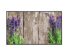 Papermoon Infrarotheizung Blumen an Holzwand, sehr angenehme Strahlungswärme bunt Heizkörper Heizen Klima