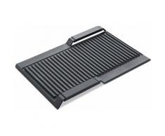 SIEMENS Grillplatte HZ390522 grau Zubehör für Herde Kochfelder Haushaltsgeräte Backblech