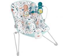 Fisher-Price Babywippe Basis, bis 9 kg, elektrisch, mit Vibration und Spielbügel bunt Baby Schaukel Wippen Outdoor-Spielzeug