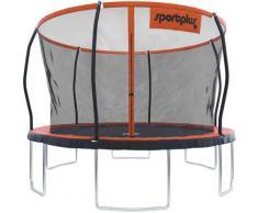 SportPlus Gartentrampolin SP-T-366, orange, Neutral, schwarz - orange