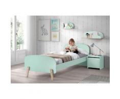 Vipack Kinderbett Kiddy grün Kinder Kinderbetten Kindermöbel Betten