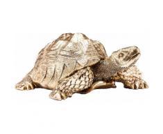 KARE Tierfigur Turtle goldfarben Tierfiguren Figuren Skulpturen Wohnaccessoires