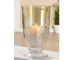 GILDE Windlicht Ronco grün Kerzenhalter Kerzen Laternen Wohnaccessoires
