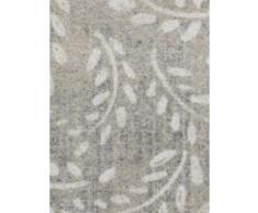 Fußmatte OVAL LEAVES grau Funktionsfußmatten Fußmatten