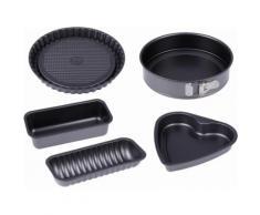 CHG Backform, doppelt antihaftbeschichtet schwarz Backformen Backbleche Kochen Backen Haushaltswaren Küchenformen