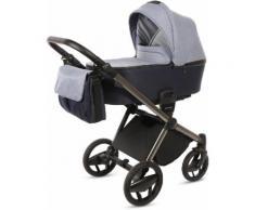 knorr-baby Kombi-Kinderwagen Set, »Life+, jeansblau-marine«, Unisex, blau-marine