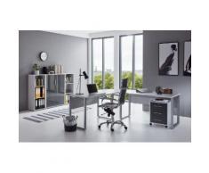 BMG Büro-Set Tabor Office 2, (Set, 6 St.) grau Arbeitszimmer Büro Made in Germany - Möbel