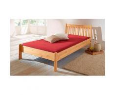 Home affaire Massivholzbett Linda beige Doppelbetten Betten