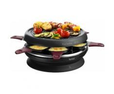 Tefal Raclette RE1820 Neo Invent, 6 St. Raclettepfännchen, 850 W schwarz Küchenkleingeräte SOFORT LIEFERBARE Haushaltsgeräte