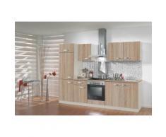 OPTIFIT Küchenzeile Padua, ohne E-Geräte, Breite 210 cm beige Küchenzeilen Geräte -blöcke Küchenmöbel