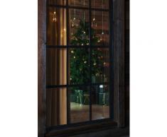 KONSTSMIDE LED Lichtervorhang, 8 Plexisterne farblos LED-Lampen LED-Leuchten SOFORT LIEFERBARE Lampen Leuchten Saisonartikel Weihnachten
