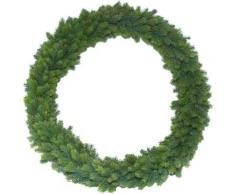 Botanic-Haus Kunstkranz Edel-Adventskranz Rory grün Kunstkränze Kunstpflanzen Wohnaccessoires