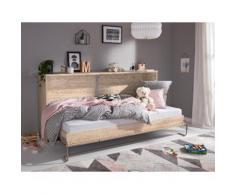 priess Klappbett, wahlweise mit LED-Beleuchtung beige Betten Klappbett