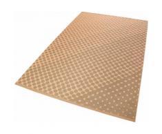 Esprit Teppich VEL Kelim, rechteckig, 4 mm Höhe, Wohnzimmer orange Schlafzimmerteppiche Teppiche nach Räumen