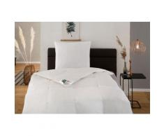 Hanse by RIBECO Federbettdecke + Kopfkissen Natural HYBRID, (Spar-Set), Mit hoher Bauschkraft durch Daunen- & Fasermischung weiß Allergiker Bettdecke Bettdecken Bettdecken, Unterbetten
