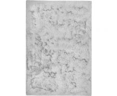 Dekowe Fellteppich Roger, rechteckig, 20 mm Höhe, Kunstfell, Kaninchenfell-Haptik, ein echter Kuschelteppich, Wohnzimmer silberfarben Schlafzimmerteppiche Teppiche nach Räumen