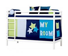 Hoppekids Etagenbett MyRoom weiß Kinder Kindermöbel Nachhaltige Möbel