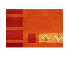 Orientteppich, Nepal Jaipur, carpetfine, rechteckig, Höhe 20 mm, manuell geknüpft rot Schurwollteppiche Naturteppiche Teppiche