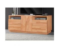 Premium collection by Home affaire Lowboard, Breite 140 cm beige Lowboard Lowboards Kommoden Sideboards