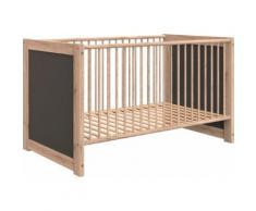 Wimex Babybett Kiruna, mit Schlupfsprossen beige Baby Gitterbetten Babybetten Babymöbel