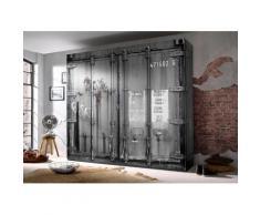 Schlafkontor Kleiderschrank grau Kleiderschränke Schränke Vitrinen Möbel sofort lieferbar