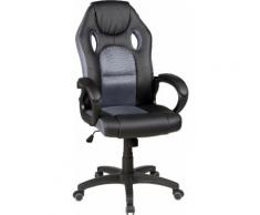 "Duo Collection Gaming Chair ""Riley"", grau, schwarz-grau"
