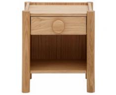 Lüttenhütt Nachttisch Hannover beige Konsolentischen Telefontische Garderoben Nachhaltige Möbel Tisch