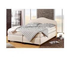 Home affaire Boxspringbett Nevada beige Einzelbetten Betten Komplettbetten