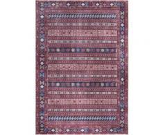LUXOR living Teppich Prima 4, rechteckig, 7 mm Höhe, Kurzflor, Orient-Optik, Wohnzimmer rot Esszimmerteppiche Teppiche nach Räumen