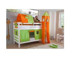 Relita Etagenbett, Set 4-tlg. bunt Kinder Kinderbetten Kindermöbel Etagenbett