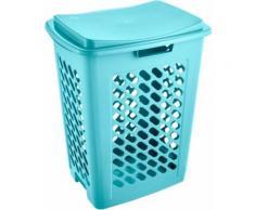 keeeper Wäschebox piet (1 Stück) blau Wäschetonnen Wäschekörbe Wäschetruhen Badmöbel Wäschesammler