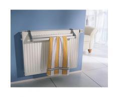 Ruco Heizkörper-Wäschetrockner Perfect silberfarben Wäscheständer und Wäschespinnen Wäschepflege Haushaltswaren