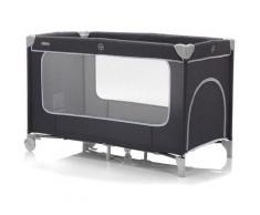 Fillikid Baby-Reisebett Reisebett mit Komfortmatratze, dunkelgrau melange, inkl. Transporttasche grau Baby Reisebetten Babybetten Babymöbel