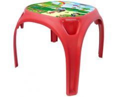 Jamara Kindertisch Zahlenspaß XL rot Kinder Kindertische Kindermöbel