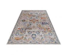 Festival Teppich Picasso 605, rechteckig, 6 mm Höhe, Orient Look, Kurzflor grau Esszimmerteppiche Teppiche nach Räumen