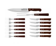 CS Koch-Systeme Steakbesteck Brühl silberfarben Besteckgarnituren Besteck Messer Haushaltswaren Essesteck-Sets