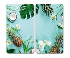KESPER for kitchen & home Herdblende-/Abdeckplatte Tropical Summer bunt Küchenaccessoires Wohnaccessoires Herdabdeckplatten