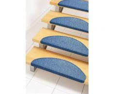 Stufenmatte Rambo Andiamo stufenförmig Höhe 4 mm maschinell getuftet, blau, blau